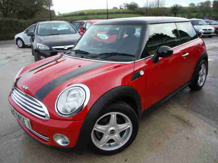 MINI COOPER 1.6 (120bhp) 2008 08 WITH ONLY 49,900 MILES FROM NEW