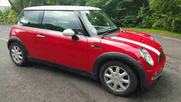 mini cooper 1 6 lady owner since 2004 12 months mot full history. Black Bedroom Furniture Sets. Home Design Ideas