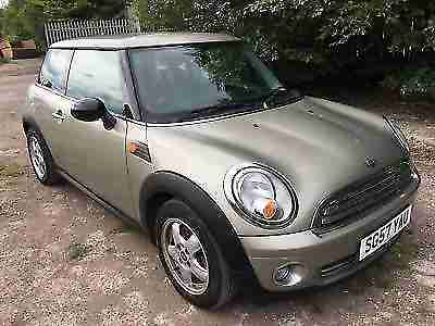 MINI COOPER 1.6 PARK LANE OR MINI ONE 1.4 NEW SHAPE