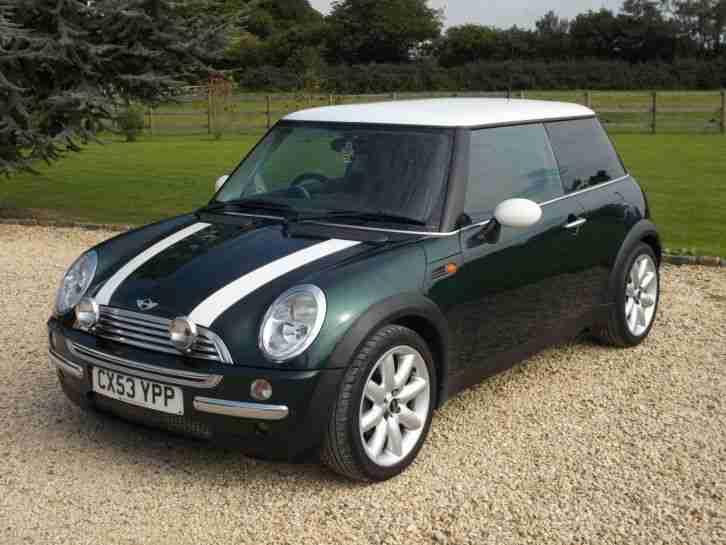 Mini Cooper British Racing Green Chilli Pack More Great Car For