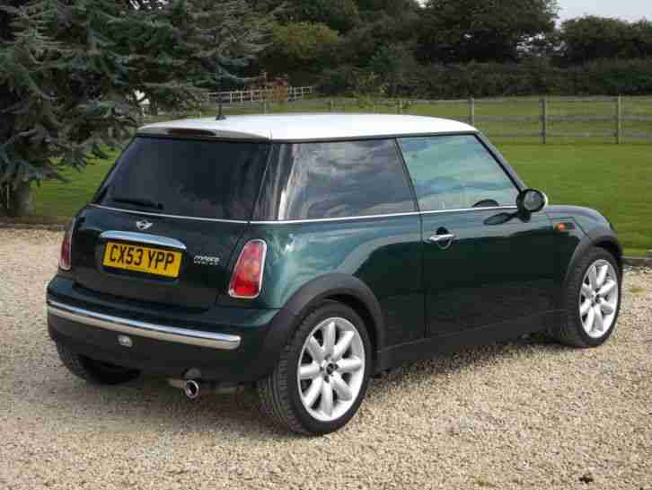 Mini COOPER BRITISH RACING GREEN CHILLI PACK + MORE