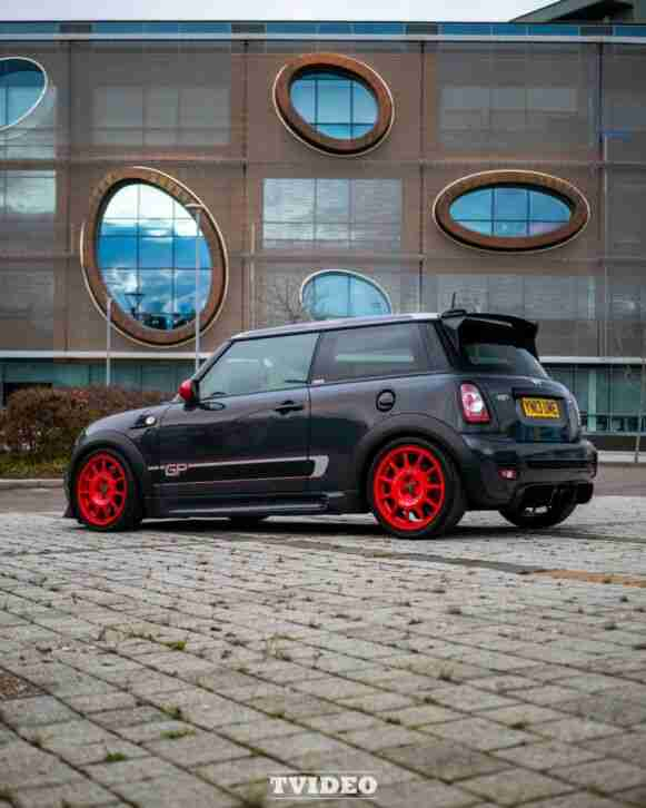 Mini COOPER JCW. Mini car from United Kingdom