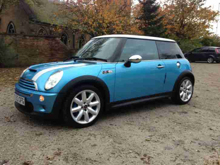 Mini COOPER S. Mini car from United Kingdom