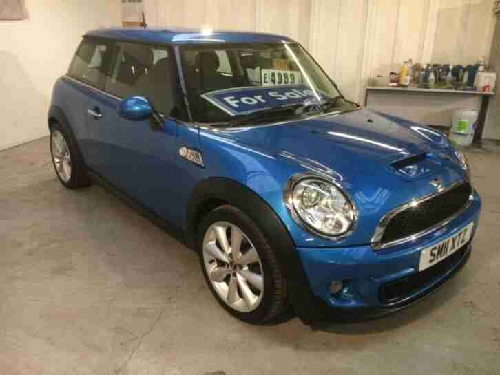 MINI COOPER S 1.6 ~ 3 DR (11) 2011 ~ PETROL~LONG MOT~190 BHP~EXCELLENT CONDITION