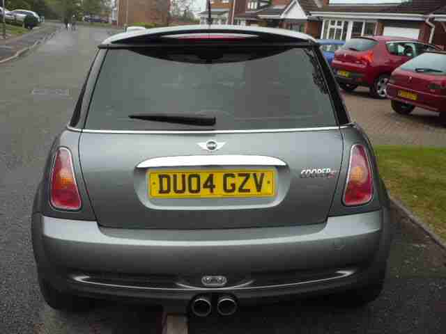 MINI COOPER S 1.6 Petrol in Grey - 04 Plate 80k In Mint Condition, Genuine Sale
