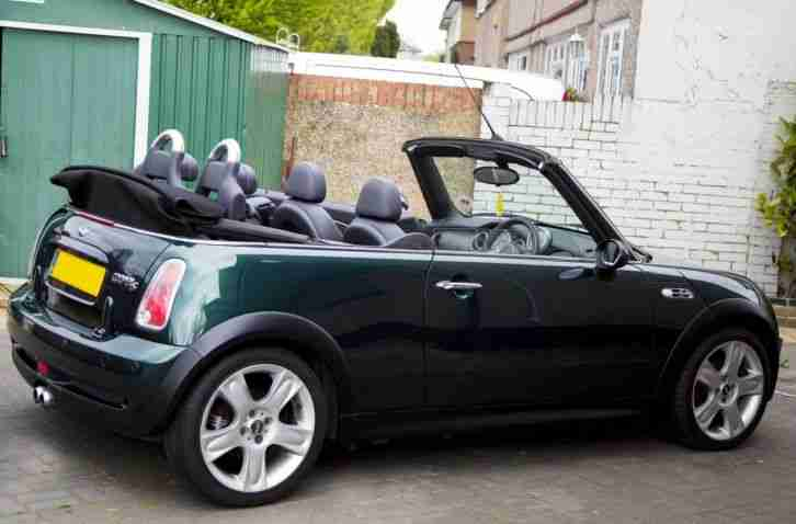 mini cooper s convertible 2005 car for sale. Black Bedroom Furniture Sets. Home Design Ideas