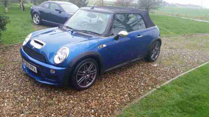 MINI COOPER S CONVERTIBLE 2007 MODEL WRX KIT 210 BHP 58K LONG MOT TOP SPEC