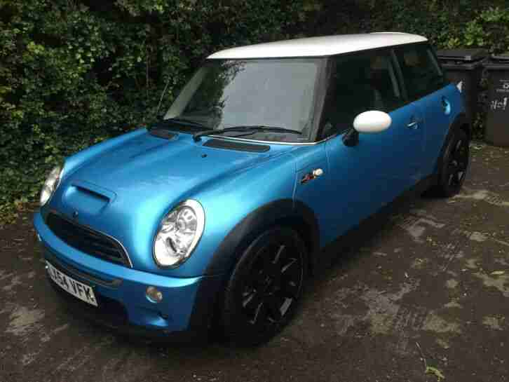 MINI COOPER S R53 1.6 SUPER CHARGED 2004 (6 speed manual)