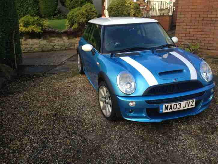 MINI COOPER S with JOHN WORKS STYLING KIT 2003