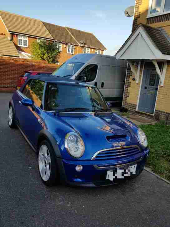 Mini Convertible COOPER. Mini car from United Kingdom