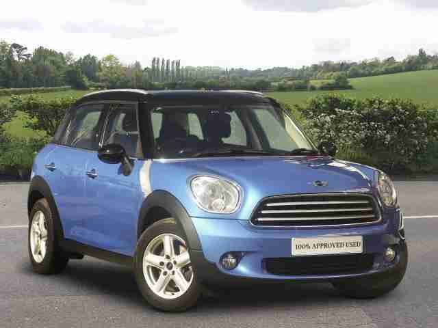 Mini Countryman 2014. Mini car from United Kingdom