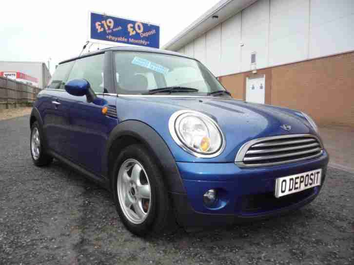 MINI HATCH 1.6 COOPER... ** £19 Per Week ...£O Deposit ** 2007 Petrol Manual