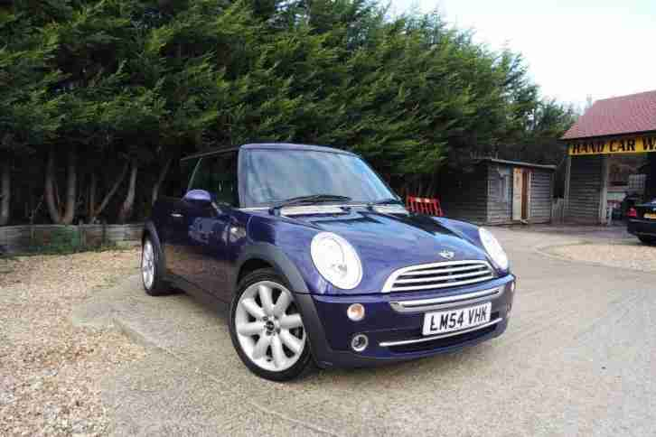 mini hatch cooper purple manual petrol 2005 car for sale. Black Bedroom Furniture Sets. Home Design Ideas