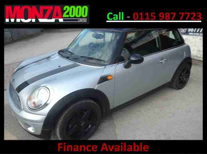 MINI MINI 1.6 COOPER CHILLI PACK NIL DEPOSIT FINANCE AVAILABLE