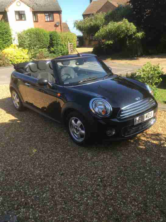 MINI ONE 2011 PETROL CONVERTIBLE