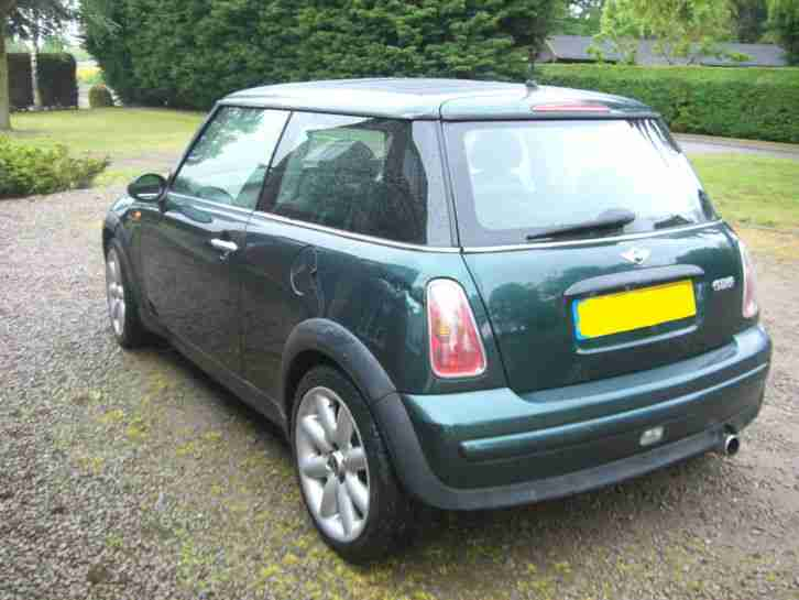 MINI PANORAMIC SUNROOF BRITISH RACEING GREEN (2003)