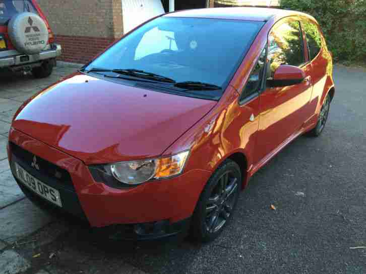 Mitsubishi Colt Ralliart 1 5 Turbo Red 2009 Plate Low