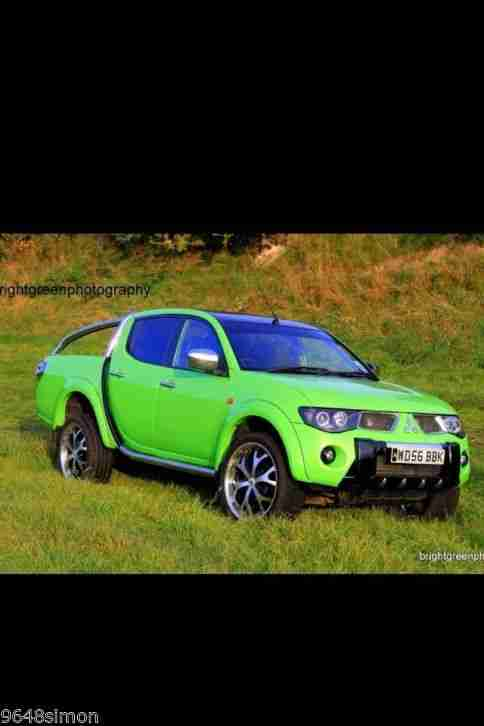 mitsubishi  animal lambo green pearlp   swap golf tdi car  sale