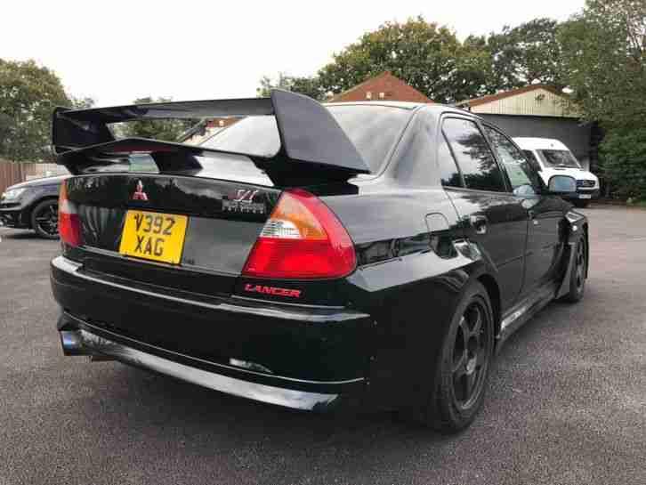 Mitsubishi LANCER EVO VI TOMMI MAKINEN BLACK, VARIS BODY KIT 2 0L PETROL,  RARE