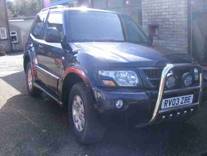 Mitsubishi SHOGUN EQUIPE. Mitsubishi car from United Kingdom