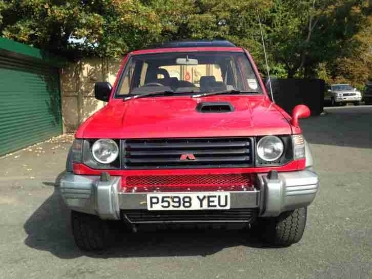 MITSUBISHI SHOGUN/PAJERO 2.8 SWB MANUAL RED TOW BAR. 4X4 AWD QUATTRO DIESEL