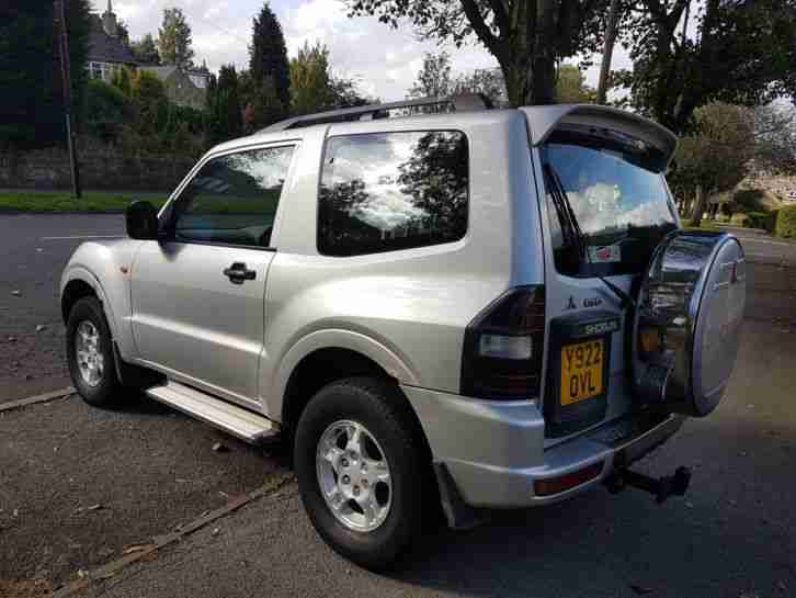 mitsubishi shogun pajero 3 2 did manual swb 2001 genuine bargain rh bay2car com Mitsubishi Pajero Evolution Mitsubishi Lancer Evolution