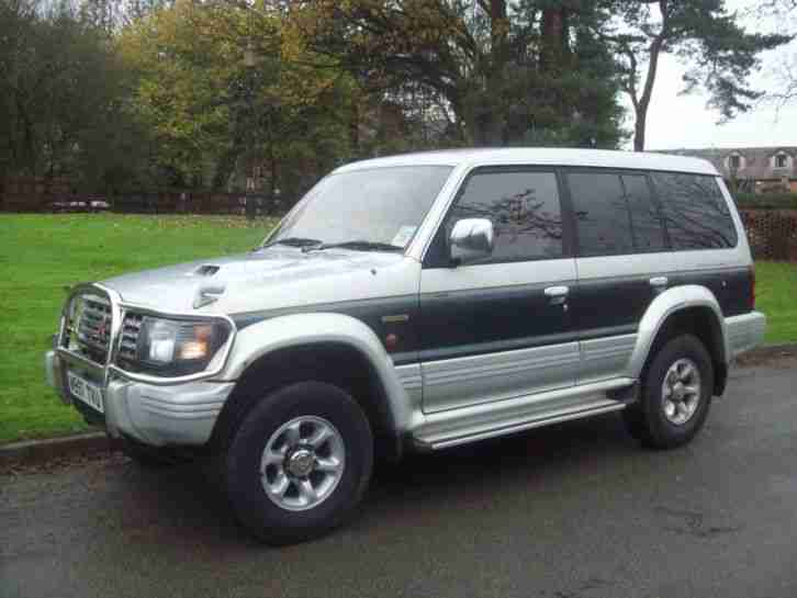 MITSUBISHI Shogun Pajero LWB 2800 Diesel Turbo 4x4 Automatic 7 Seats Mot & Tax