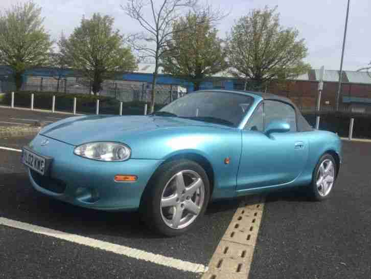 Mx5 Mk2 5 1 8i Sport Crystal Blue Metallic Car For Sale
