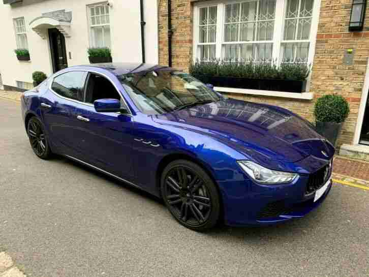 Maserati Ghibli 3.0. Maserati car from United Kingdom