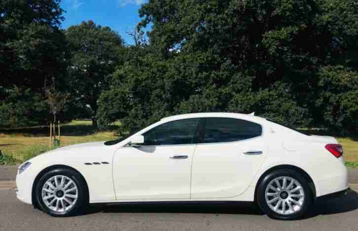 Ghibli 3.0 Diesel 2014 White with