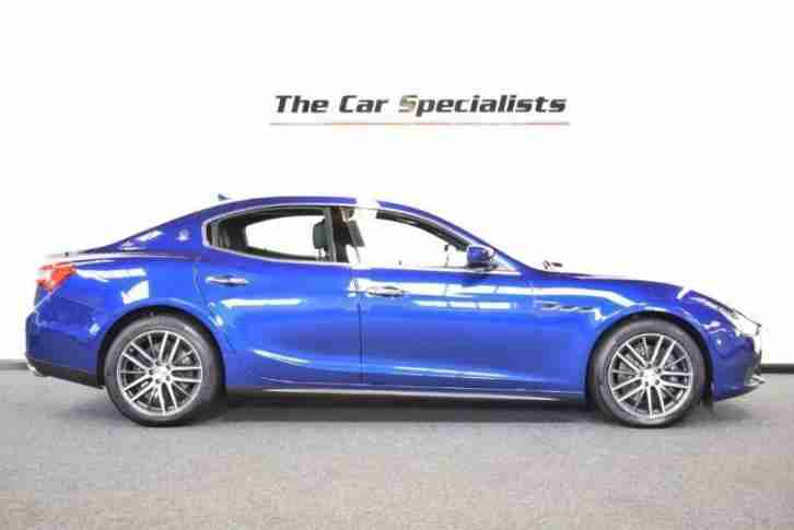 Maserati Ghibli DV6 2016/65 EXTENDED LEATHER KEYLESS ENTRY BUSINESS PACKAGE