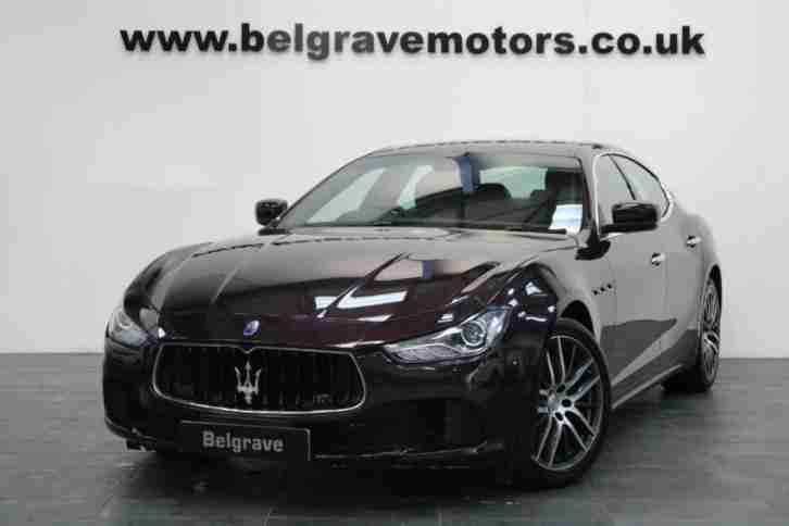 Maserati Ghibli DV6. Maserati car from United Kingdom