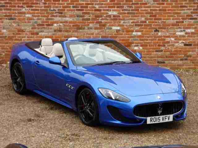 Maserati Grancabrio 4.7 2dr VAT QUALIFYING - MC SHIFT PETROL AUTOMATIC 2015/15