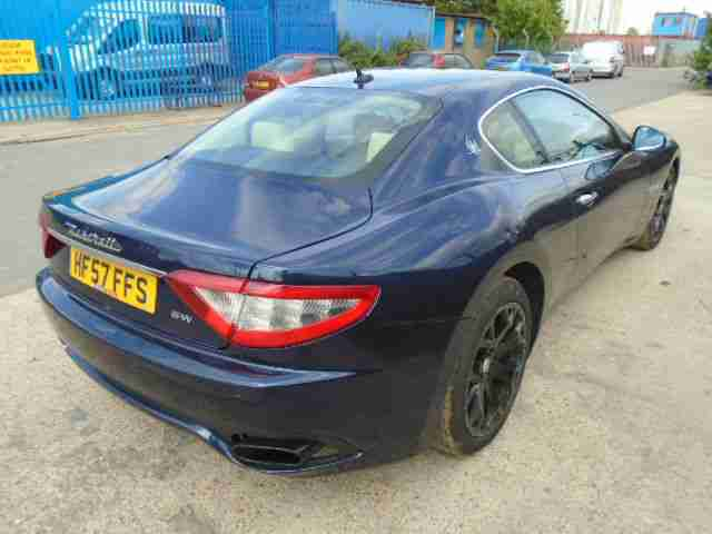 Maserati Granturismo 4.2 auto UNRECORDED MOT 2 MARCH 2016 68,000 MILES 57 PLATE