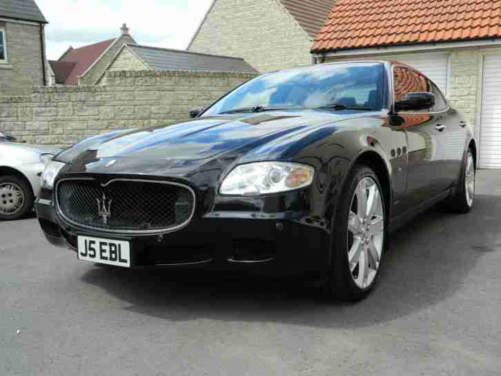 Maserati Quattroporte 2007 Sport GT Duoselect Carbon and Black Leather Interior
