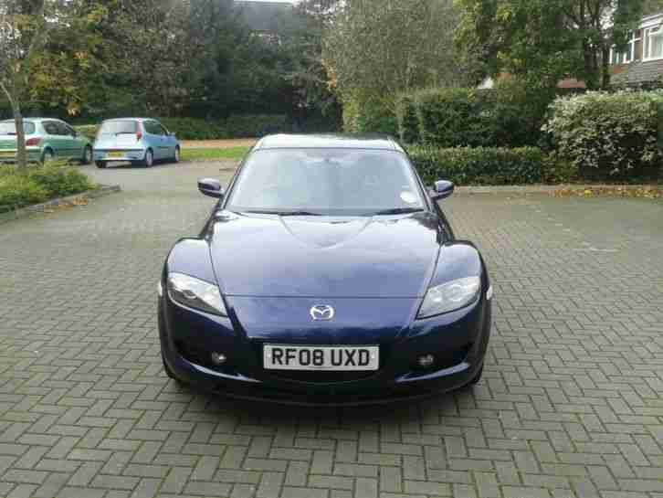 Mazda 2008 rx8 192 ps stormy blue low mileage