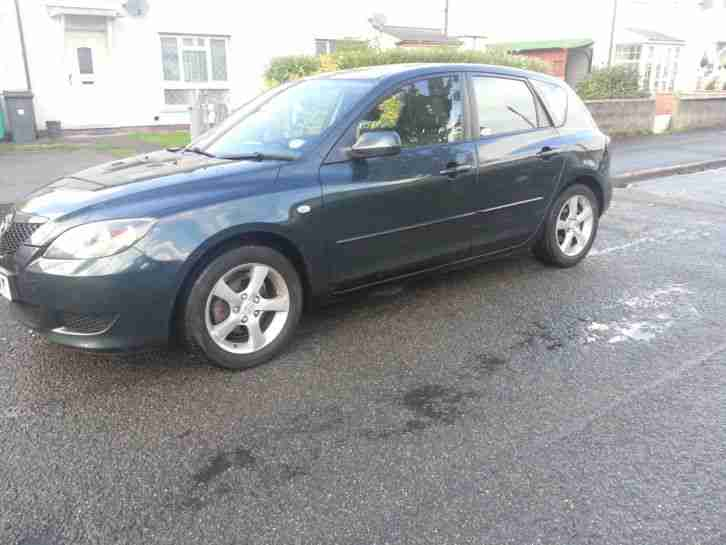 Mazda 3 2004, 53 plate looks and drives great
