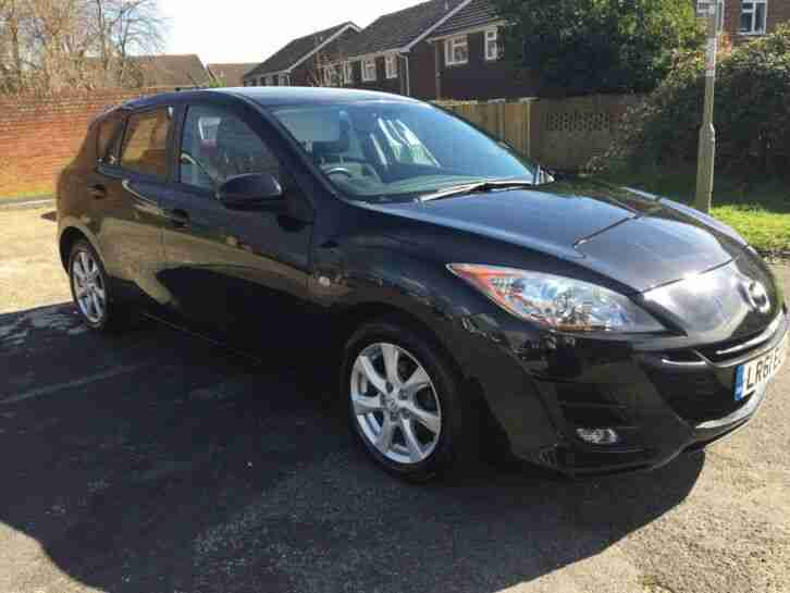 Mazda 3 5 door Black Diesel