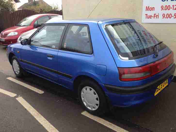 Mazda 323 LXi Blue 1.3 - MOT May 24th 2015 - ONLY 58,000 Miles with FULL HISTORY