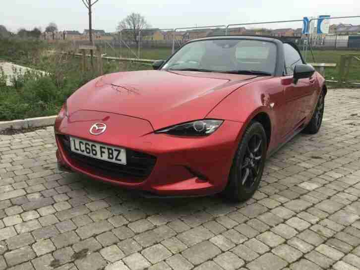 Mazda MX 5 1.5 ( 131ps ) ( NAV ) 2016 Sport only £10995