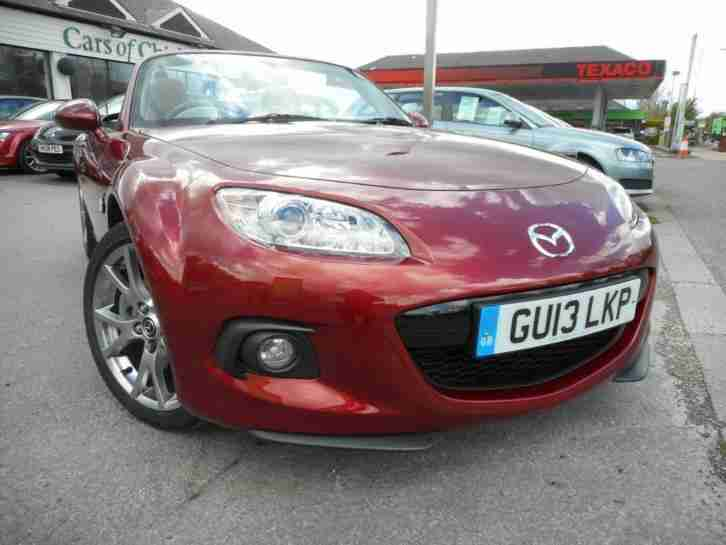 Mazda MX-5 2.0i Roadster Venture Edition 6spd 1 Owner 19000 m PETROL 2013/13