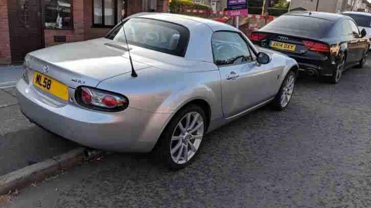 Mazda MX-5 Sport Hard Top Convertible 2008 Cheap Insurance, High Spec, Air Con
