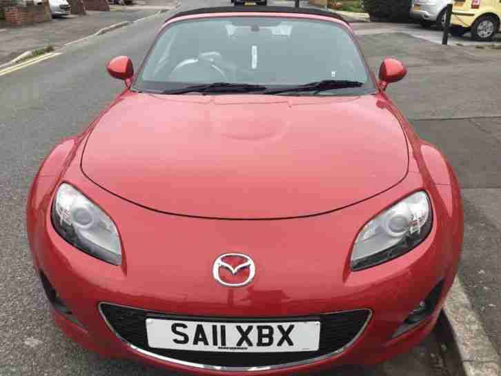 Mazda MX 5i. Mazda car from United Kingdom