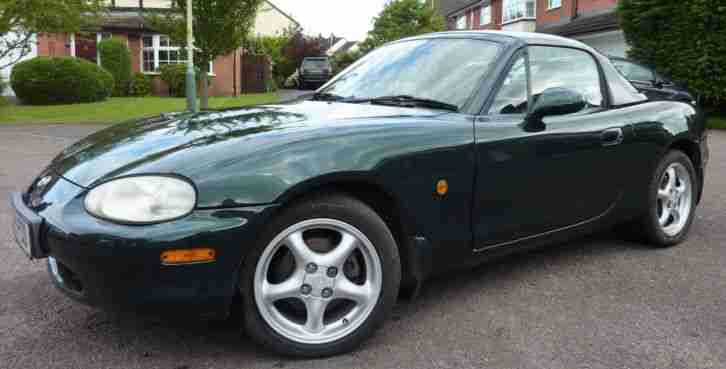 Mazda MX5 Convertible. Mazda car from United Kingdom