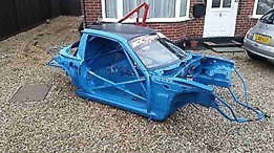 Mazda MX5 Race Drift Car bare shell with roll cage
