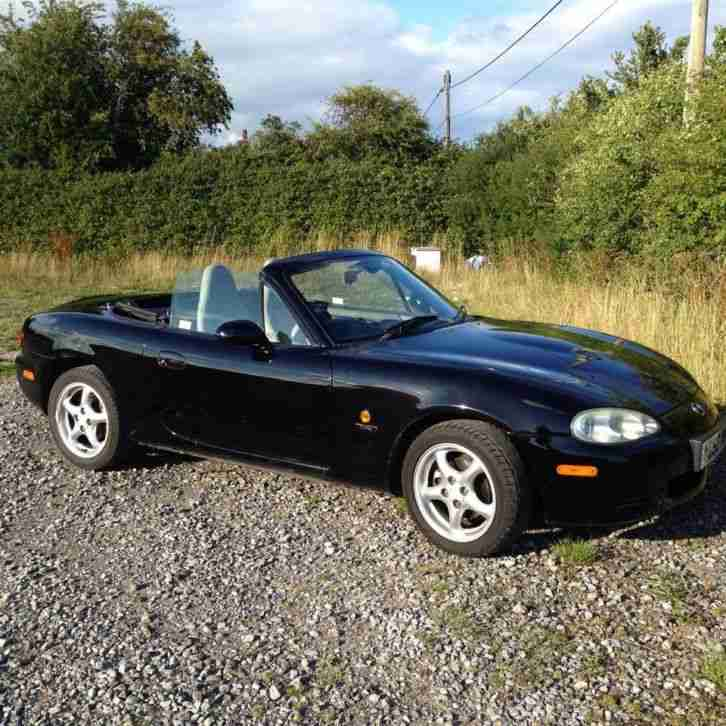 Mazda MX5 Trilogy With Hardtop Roof Limited Edition. Car