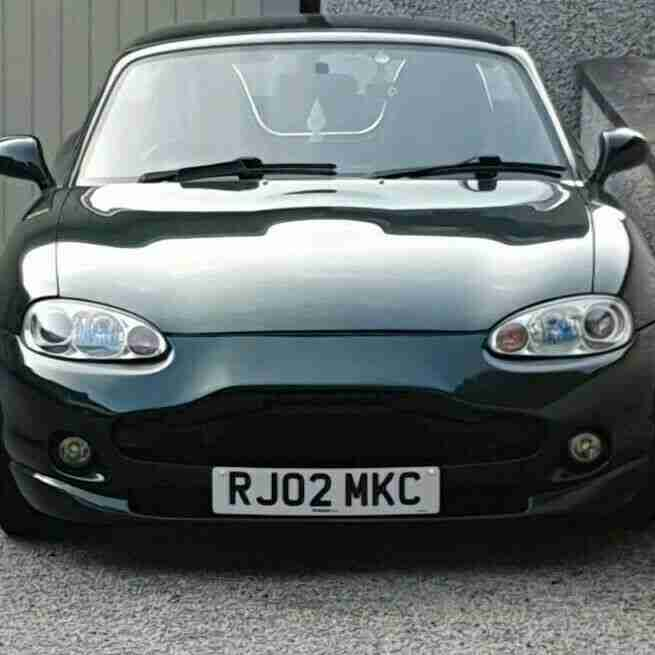 MX5 with Aston Martin bodykit very