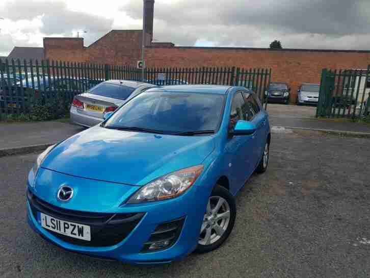Mazda 1.6D. Mazda car from United Kingdom