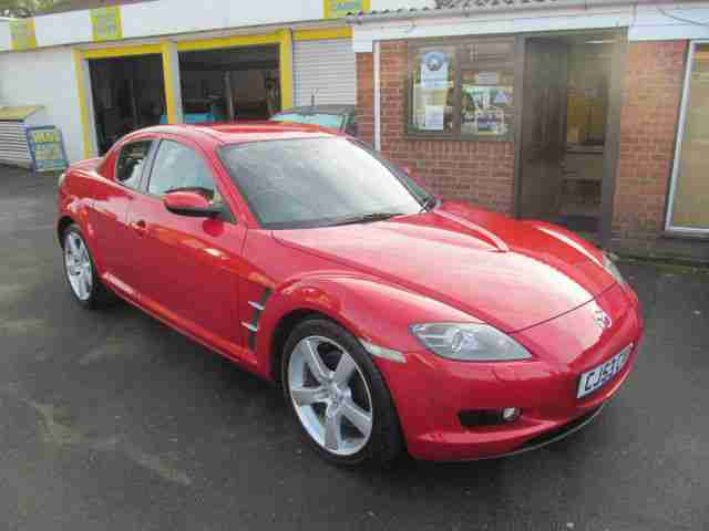 Mazda RX-8 1.3 ( 228bhp ) 38000 miles 9 service stamps priced to sell £2495