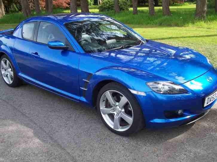 Mazda RX 8 1.3 ( 228bhp ) In Electric Blue , Full Black ...